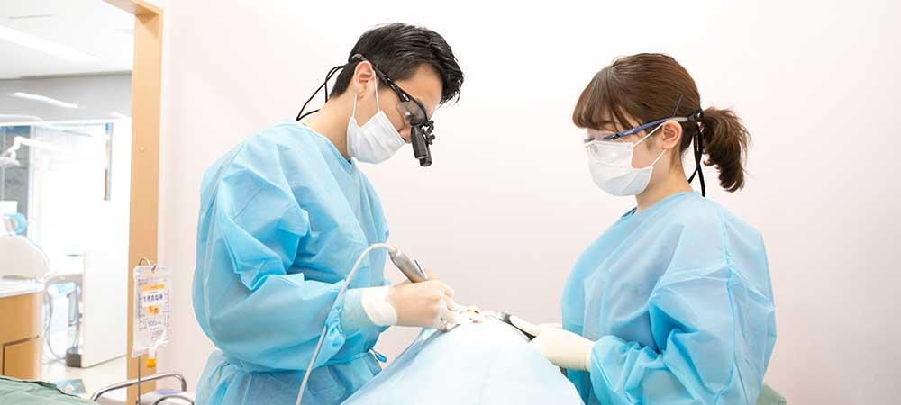 インプラント治療の環境整備